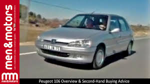 2nd hand peugeot peugeot 106 overview u0026 second hand buying advice youtube