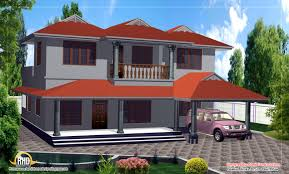 duplex house design 2000 sq ft kerala home design and floor