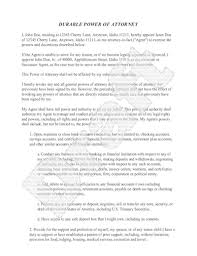 power of authority template sle power of attorney form free power of attorney letter sle