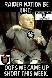 Chargers Raiders Meme - 276 best other football teams images on pinterest football