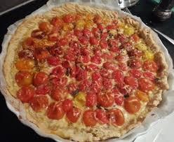 cuisiner des tomates cerises tarte aux tomates cerises recette de tarte aux tomates cerises
