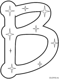 Letter B Coloring Pages For Toddlers Bltidm Letters Coloring Pages