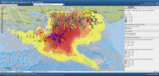 Map Of Mexico Coast by Explore Oil Spill Data For Gulf Of Mexico Marine Life With Noaa
