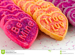 valentines day heart candy valentines day heart candy and cookies stock photo image 49394948