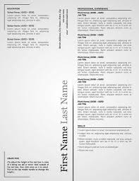 Classy Resume Templates 9 Best Executive Resume Template Images On Pinterest Cover