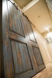 Distressed Barn Door by 59 Best Barn Door Ideas Images On Pinterest Doors Sliding Doors