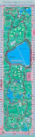 Kensington Metropark Map Inspirational Central Park Running Map Cashin60seconds Info