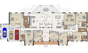 Dual Occupancy Floor Plans Grange Regency Single Storey Marksman Homes Illawarra And