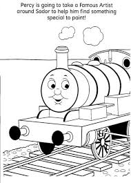 thomas train coloring pages learn coloring