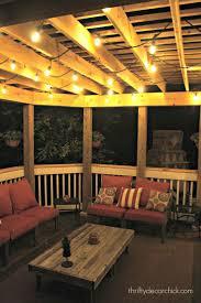 outdoor patio string lighting ideas solar patio lights costco