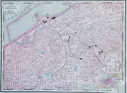 map of cleveland map of cleveland 1900