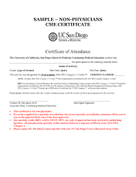 sample physicians cme certificate receipt of rent payment ticket