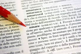 italian writing paper definition of love from an italian dictionary stock photo picture definition of love from an italian dictionary stock photo 5379195