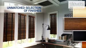 explore the world of levolor real and faux wood blinds youtube