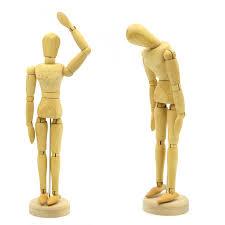 wooden manikins 8 inch joints wood wooden mannequin wooden puppet wooden