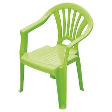 chaise enfant plastique vert chaise verte pour jardin yesdeko com