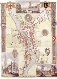 Old Boston Map by Lincolnshire Old Maps