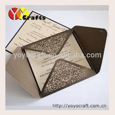Wedding Invitations Prices Chinese Wedding Invitation Card Design Laser Cut Formal Invitation