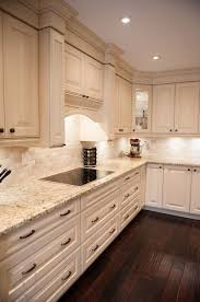 Kitchens With Off White Cabinets Best 25 Light Granite Countertops Ideas On Pinterest Kitchen