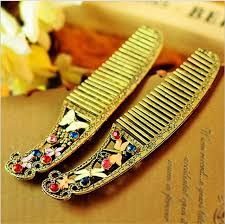 vintage comb hot sale new vintage butterfly dragonfly designer comb for women