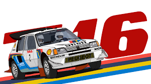 peugeot 205 group b artstation peugeot 205 t16 group b ben cartwright