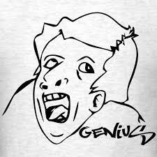 Genious Meme - okeshop genius meme mens t shirt