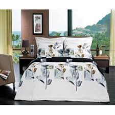 Duvet Covers Brown And Blue Wamsutta 1600201 Reed 300 Thread Count Duvet Cover