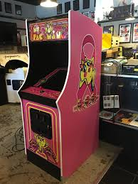 Ms Pacman Cabinet Custom Ms Pac Man Breast Cancer Awareness Cabinet Album On Imgur