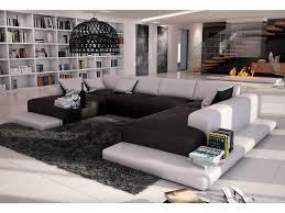 vente unique canapé cuir beau canape panoramique moderne canapé panoramique 7 places en