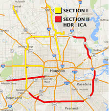 harris county toll road map hctra section ii hdr ica