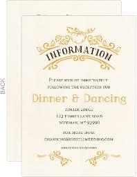 enclosure cards wedding enclosure cards wedding invitation enclosures