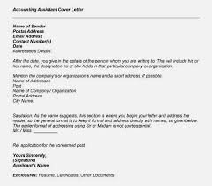 sample of cover letter for accounting job cover letter accounts assistant cover letter accounting assistant