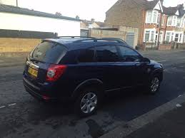 chevrolet captiva blue manual diesel low mileage mot until
