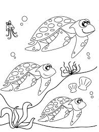 sea turtle coloring pages getcoloringpages