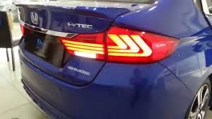 lexus is tail lights honda city 2014 2015 eagle eyes lexus style light bar led tail