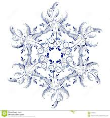russian ornaments new year s snowflake stock vector image