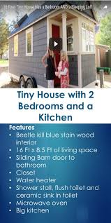 25 best two bedroom tiny house ideas on pinterest