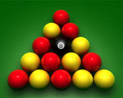 how to set up a pool table combinatorics setting up an english pool table mathematics stack