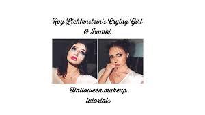 Bambi Halloween Makeup by Roy Lichtenstein U0027s