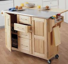 folding kitchen island cart attractive origami folding kitchen island cart ideas also