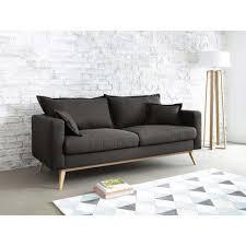 maison canapé canapé 3 places en tissu duke maisons du monde living rooms