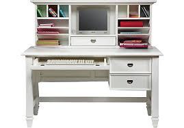 belmar white 2 pc desk and hutch desk u0026 hutches colors