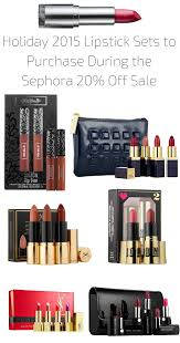 2015 lipstick sets to purchase during the sephora 20