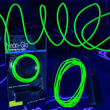 led el wire string lights green el wire lighting sureglow