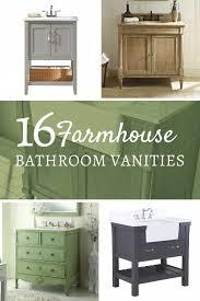 16 farmhouse style single sink vanities twelve on main