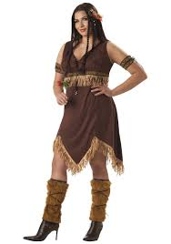 plus size native american princess costume