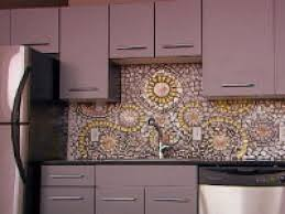 How To Install Glass Mosaic Tile Backsplash In Kitchen Kitchen Ideas Glass Mosaic Tile Backsplash Home Design And Decor