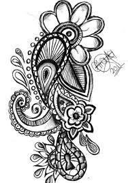 tribal clover bow flower tattoo design tattootemptation clip
