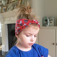 knotted headband baby knot headband wrap poppy floral print toddler knot