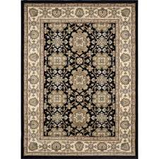 Kelsey Medallion Indoor Outdoor Rug Home Dynamix Bazaar Petal Hd2935 Black Ivory 7 Ft 10 In X 10 Ft